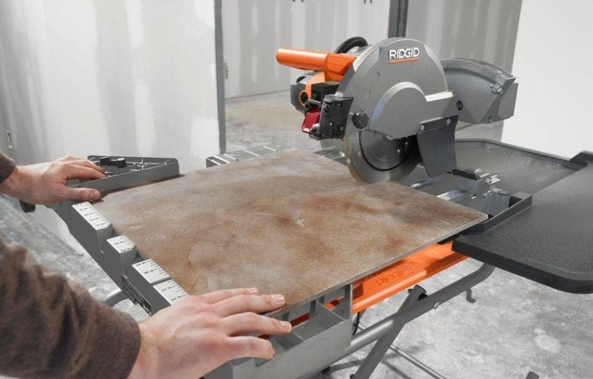 Ridgid 10 inch wet tile saw review pro tool reviews keyboard keysfo Images
