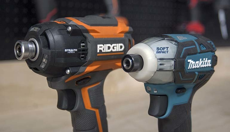 Ridgid Stealth Force Vs Makita Oil-Impulse