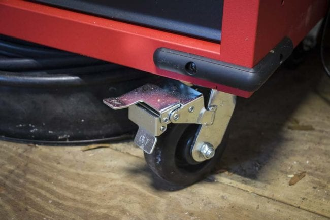 Milwaukee 60-inch work station casters