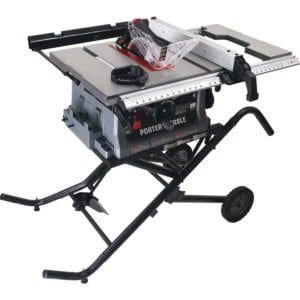 Best portable jobsite table saw shootout pro tool reviews porter cable pcb222ts greentooth
