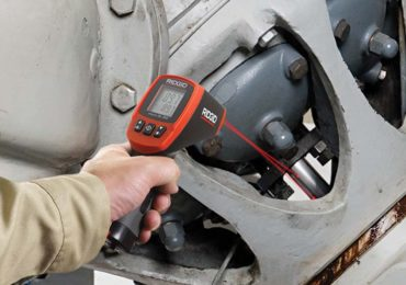 Ridgid micro IR-200 Non-Contact Infrared Thermometer application