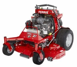 Ferris Soft Ride Stand-On (SRS) Z2 Mowers feature