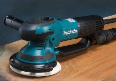 Makita 6-Inch Random Orbit Sander (BO6050J) application