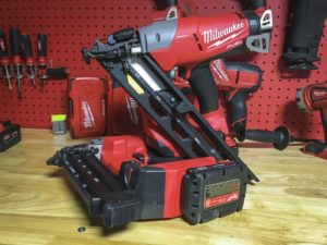 Milwaukee M18 15 Gauge Angled Finish Nailer Review Ptr