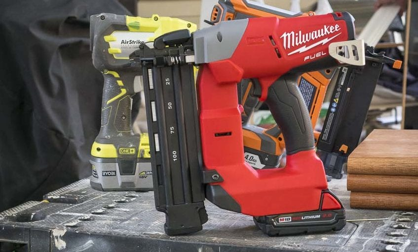 milwaukee m18 fuel 18 gauge finish nailer review