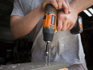 Best 12V Cordless Drill - Deck Screws Ridgid R82005K Lo Res