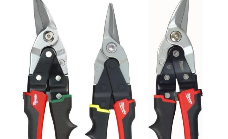 Color Coded Aviation Snips Handles