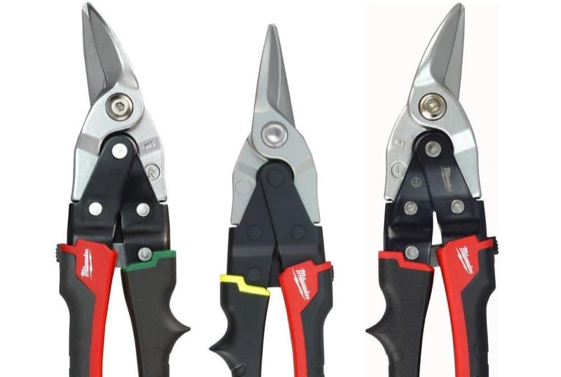 Color Coded Aviation Snips Handles Use The Right Snips