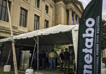 2016 Metabo tools press event