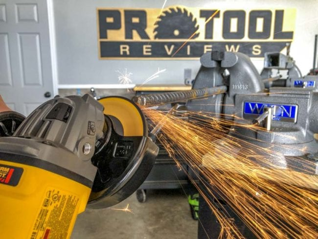 DeWalt FlexVolt 60V Max Grinder Review
