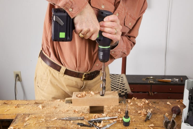 Use the Right Wood Drilling Bit