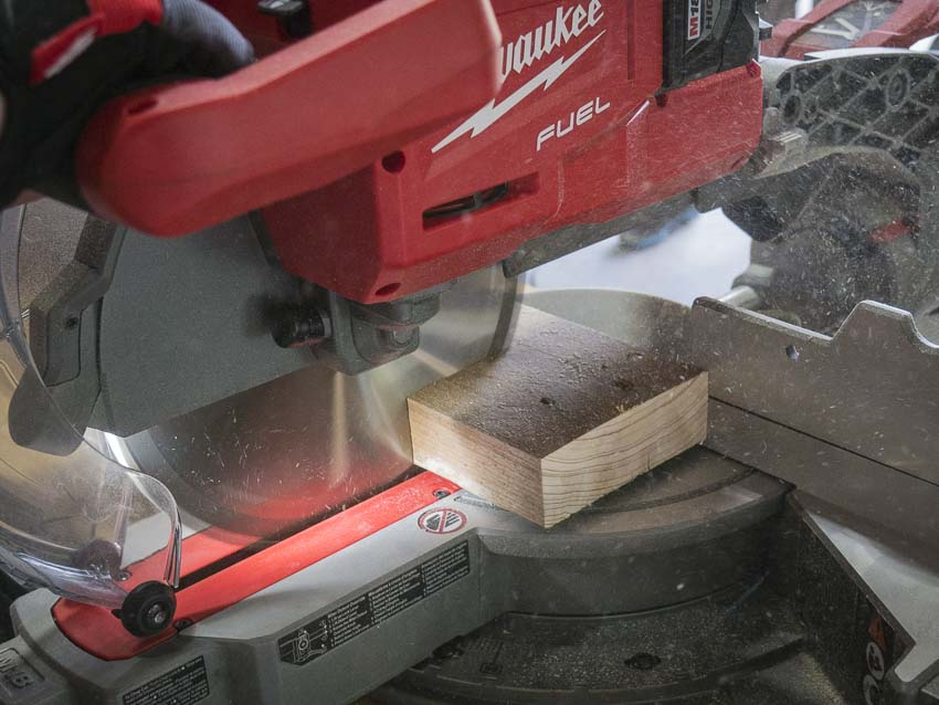 Milwaukee Cordless Sliding Miter Saw