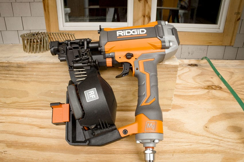 Ridgid R175rnf Coil Roofing Nailer Pro Tool Reviews