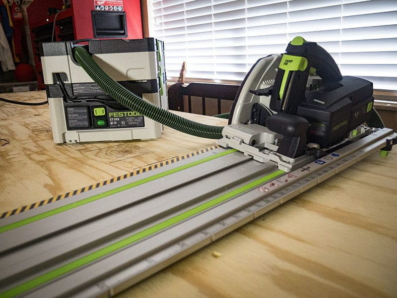 Festool HK 55 Carpentry Saw –Best Corded Track Saw for Woodworking