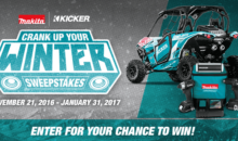 Makita Crank Up Your Winter Sweepstakes