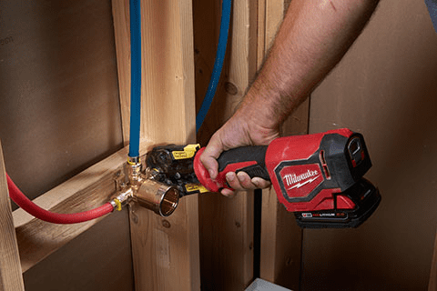 Milwaukee M18 Short Throw Press Tool