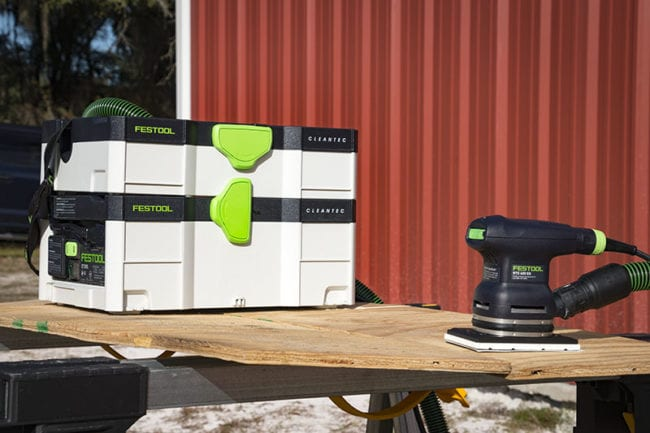Festool DTS 400 EQ and Festool RTS 400 EQ Random Orbit Sander