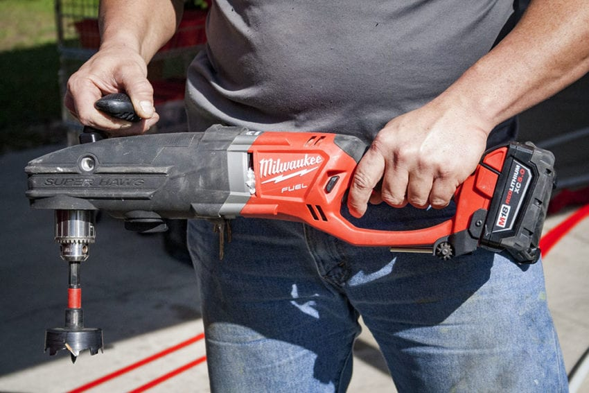 Milwaukee M18 Fuel 2809-20 Super Hawg Right Angle Drill