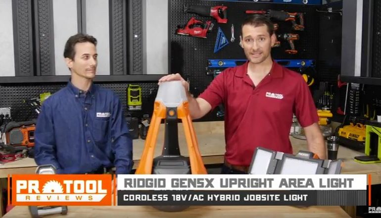 Ridgid Gen5X Upright Area Light