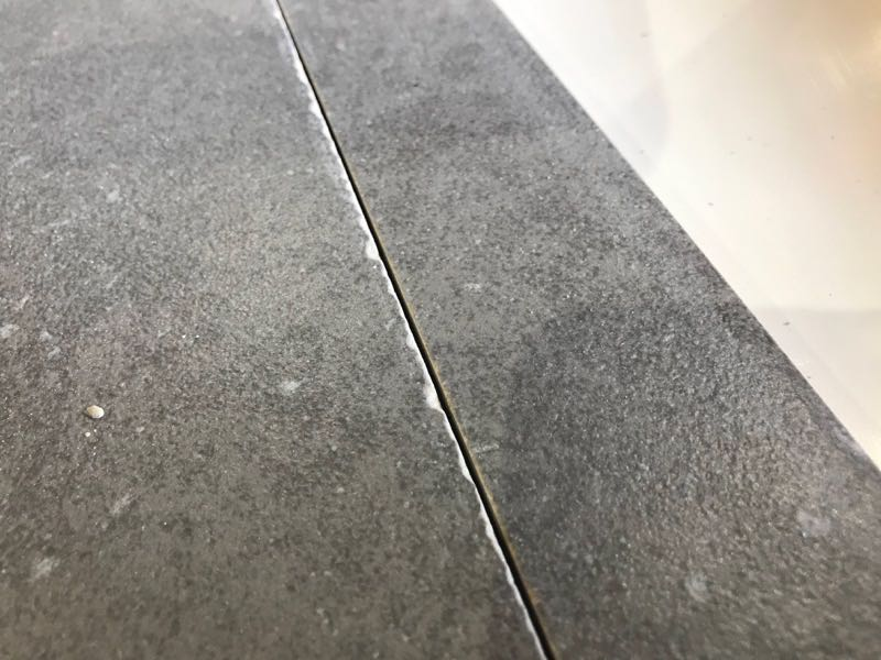 dry cut tile blade chipping