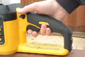 Best Battery-Powered Chainsaw DeWalt Trigger Safety