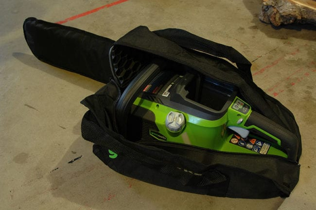 Greenworks 40V Max Chainsaw Bag