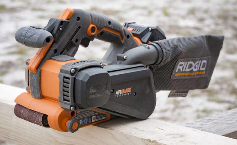 Ridgid Gen5X Brushless Belt Sander