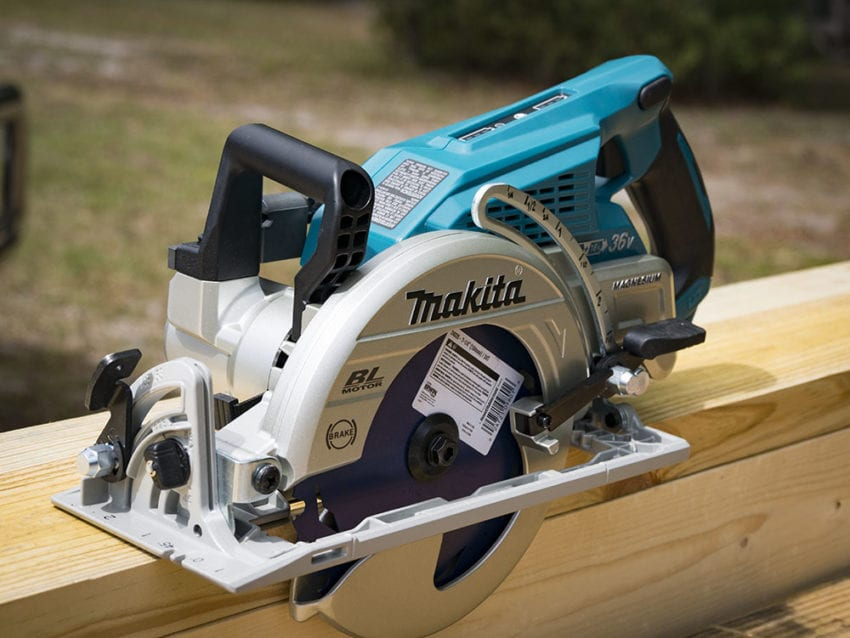 Makita XSR01 18V X2 Brushless Rear-Handle Circular Saw Review