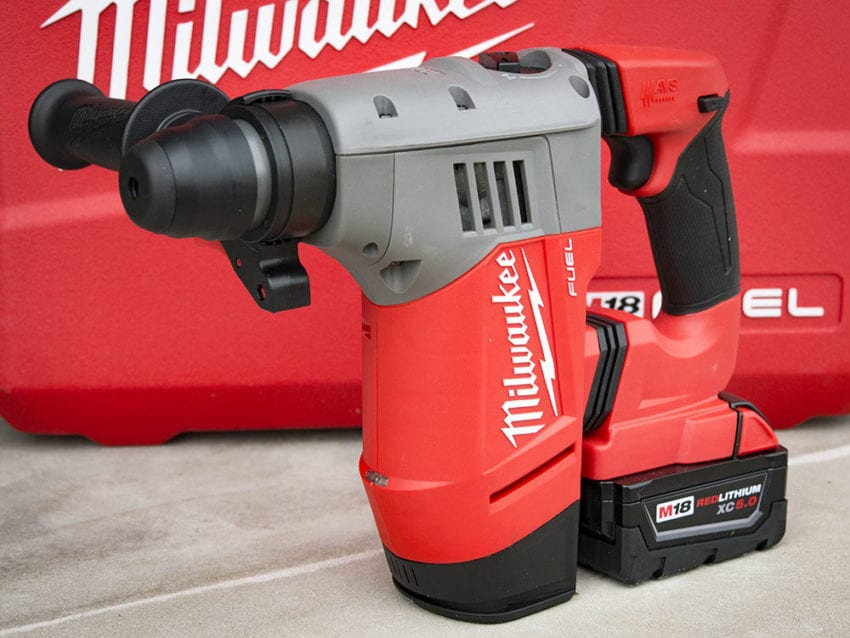 Milwaukee M18 Fuel SDS-Plus Rotary Hammer 2715-22 Review