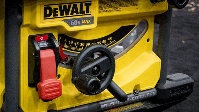 DeWalt FlexVolt Table Saw