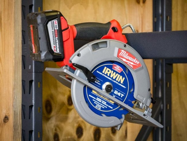Best Cordless Circular Saw - Milwaukee 2731 Rafter Hook 01