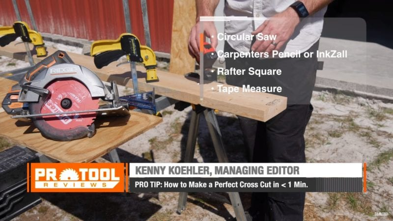 Making an Accurate Cut with a Circular Saw