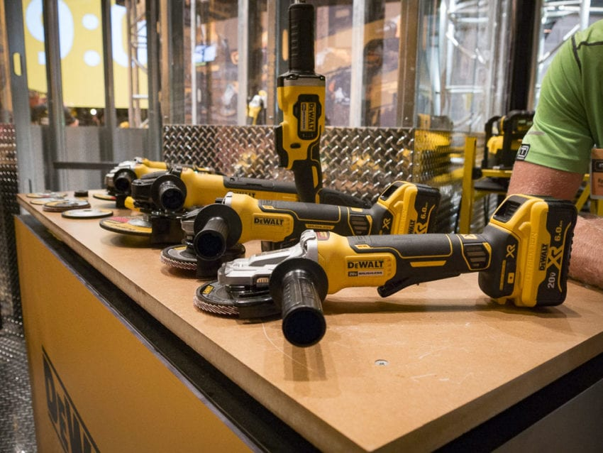 Best Tools at the 2017 DeWalt Experience - DeWalt Grinder Solutions
