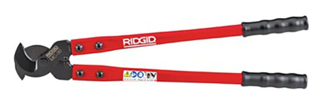 Ridgid Cable Cutters