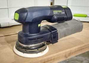 Festool Hybrid Sander Line Offers Cordless Freedom