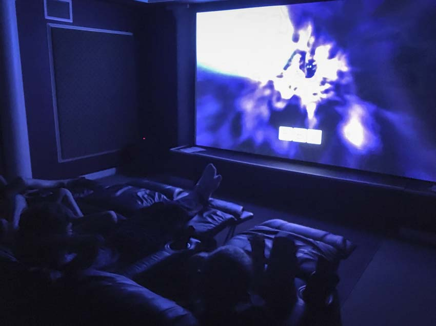 How to Build a Home Theater with Hidden Speakers