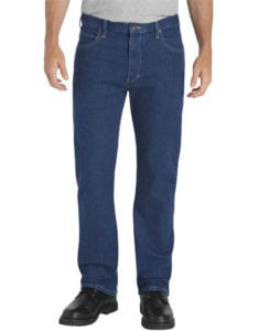 Dickies FLEX Regular Fit Straight Leg 5-Pocket Denim Jean