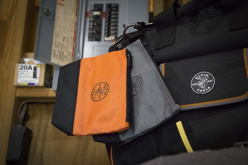 Klein Stand Up Zipper Bags Supplementing Your Tool Bag