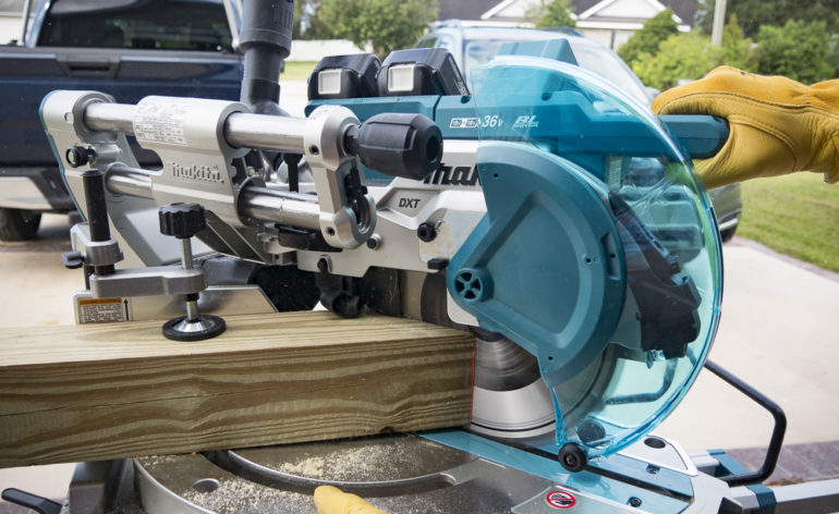 Makita 18V X2 LXT10 Miter Saw