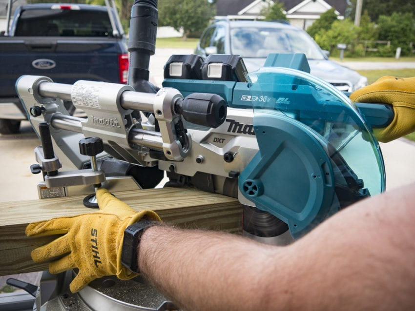 "Makita 10"" Cordless Miter Saw XSL06 Review"