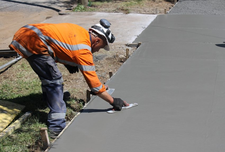 How to Apply a Concrete Overlay