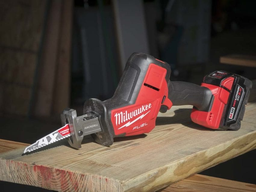 Milwaukee M18 Fuel Hackzall Review Pro Tool Reviews