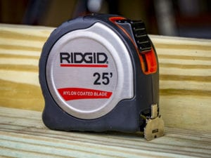 Ridgid Tape Measure