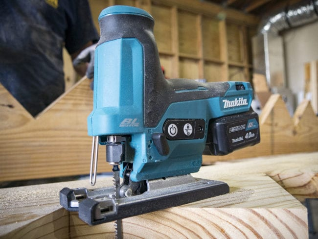 Makita 12V CXT Jig Saw Barrel Grip VJ05 Review
