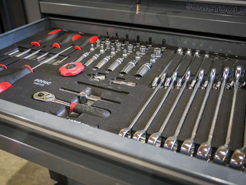 Sonic S9 Tool Box 8 Drawers Of Pro Level Organization Ptr