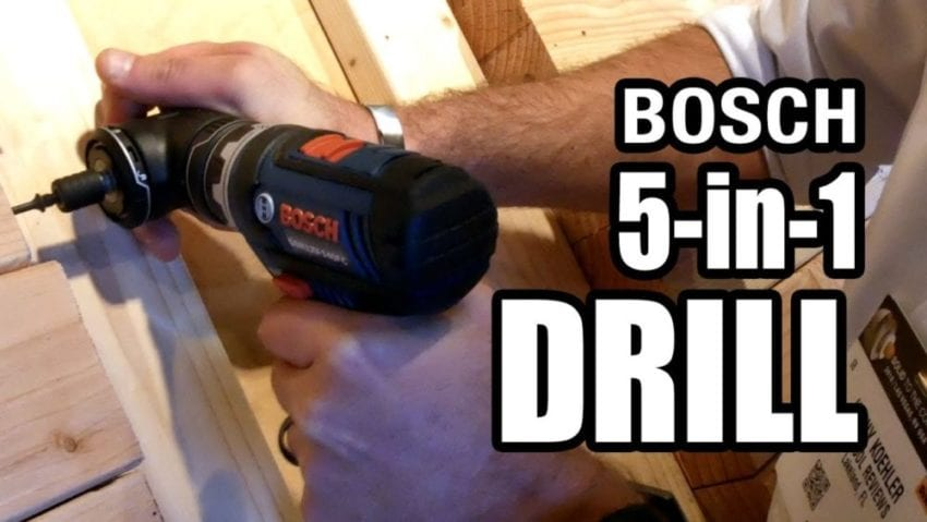 Bosch Flexiclick 5 In 1 Drill Video Pro Tool Reviews