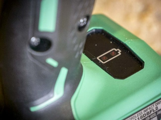 Hitachi Brushless Impact Driver WH18DBFL2 Review
