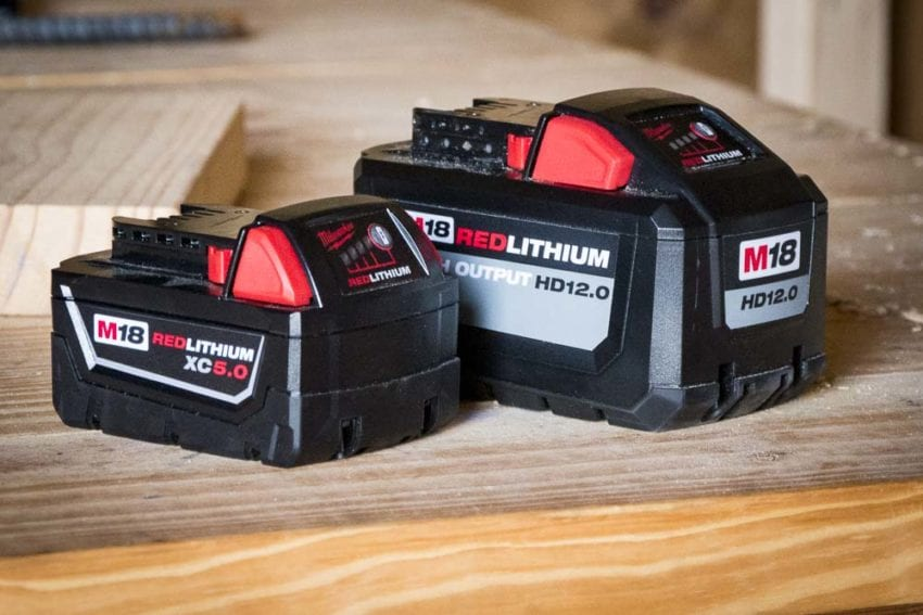 Milwaukee 12.0 Ah High Output Battery 03
