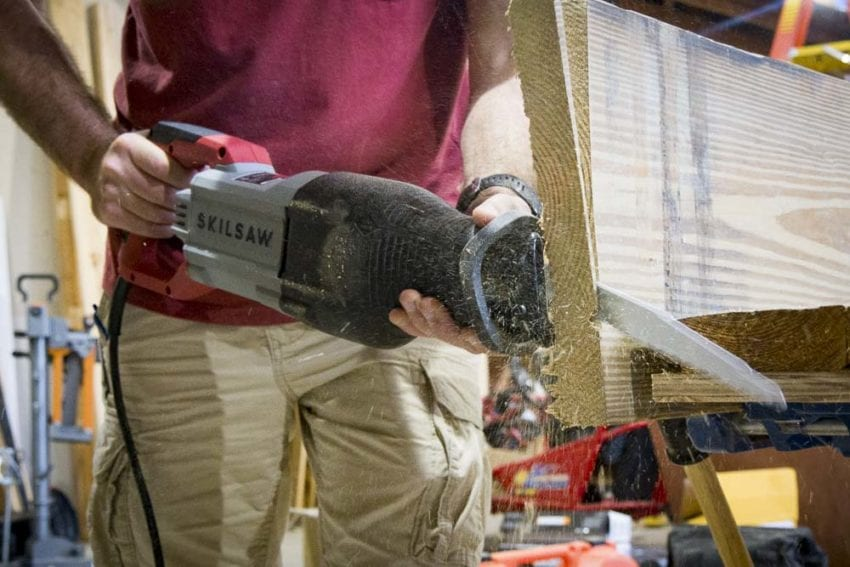 Skilsaw Buzzkill 15-Amp Reciprocating Saw SPT44-10 Review