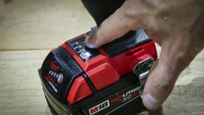 Milwaukee M18 FUEL impact driver modes